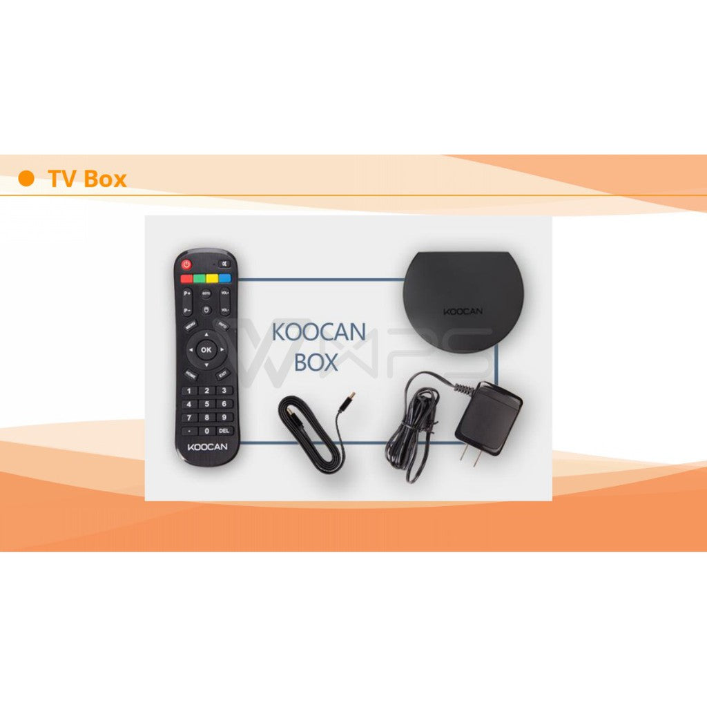 TV BOX Koocan con bluetooth incorporado