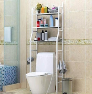 Estante para baño de acero inoxidable