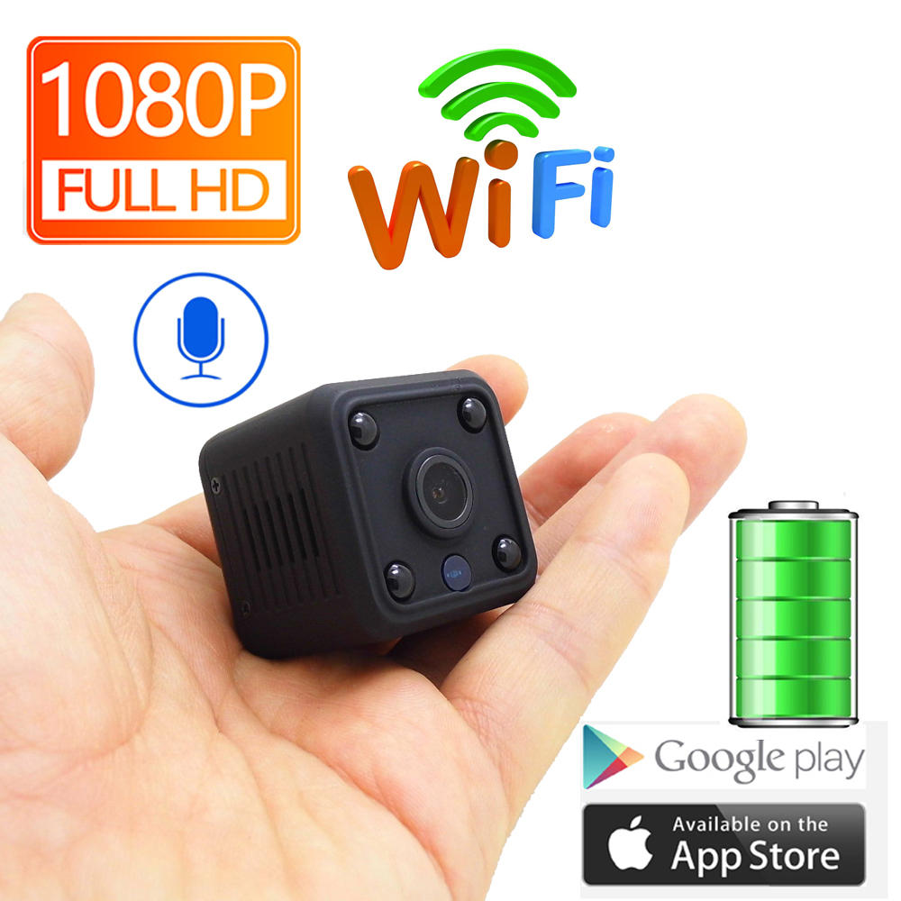 Camara mini wifi recargable