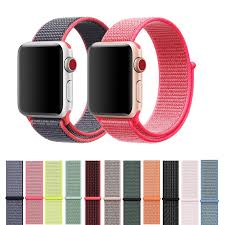 Correa de nylon (tela) para Apple Watch band