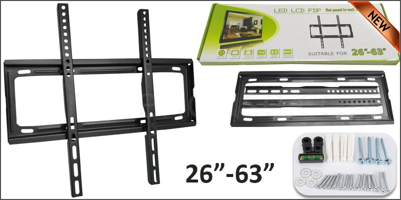 "Base para Pared Fija Televisor Tv 26""-63"""