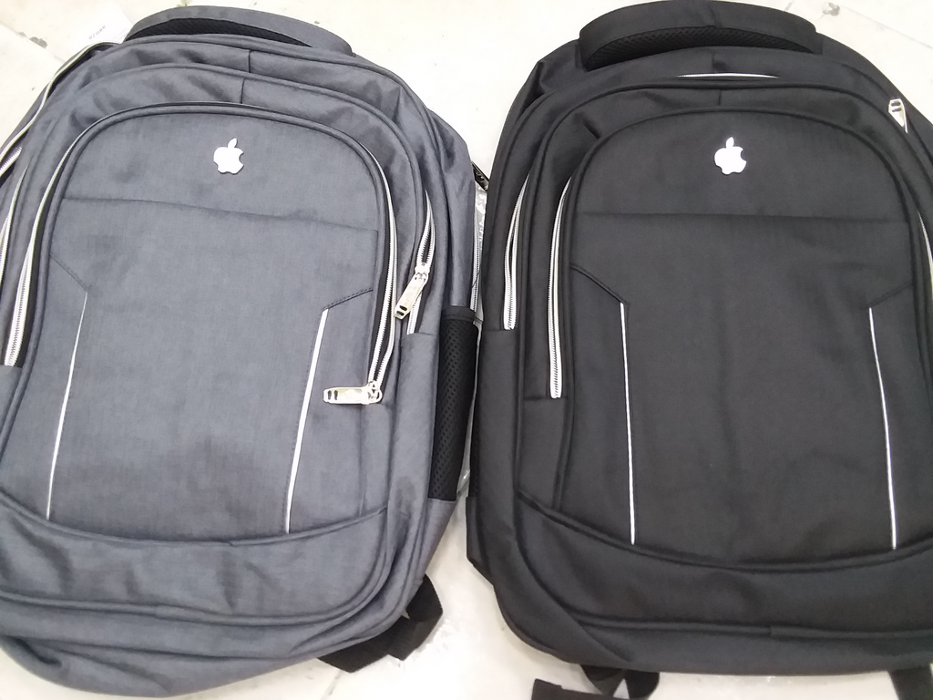 Mochila para laptop tipo apple, impermeable con puerto de carga USB
