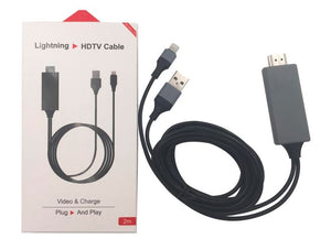 Cable HDMI para celulares iPhone