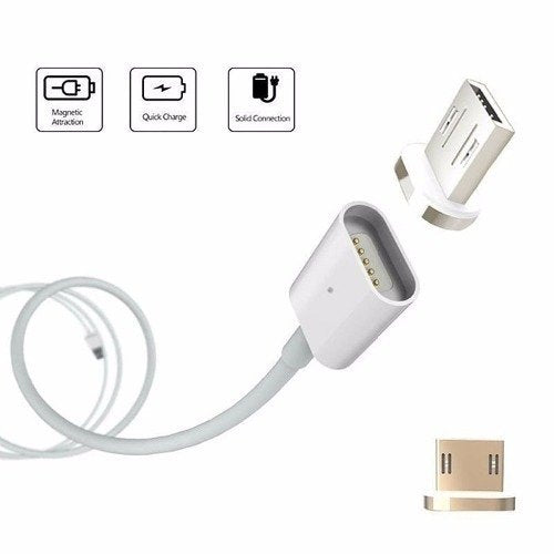 Cable USB magnetico micro USB V8