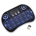 Mini teclado con luz para Smart TV, TV Box, PC o Laptop