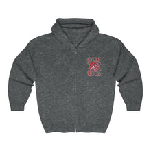 Load image into Gallery viewer, Cycle Godz Heavy Blend Full Zip Hooded Sweatshirt
