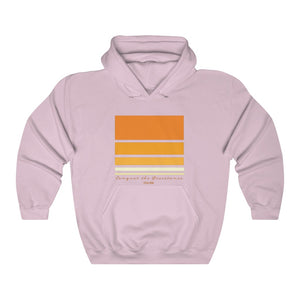Conquer The Resistance Hoodie (orange logo)