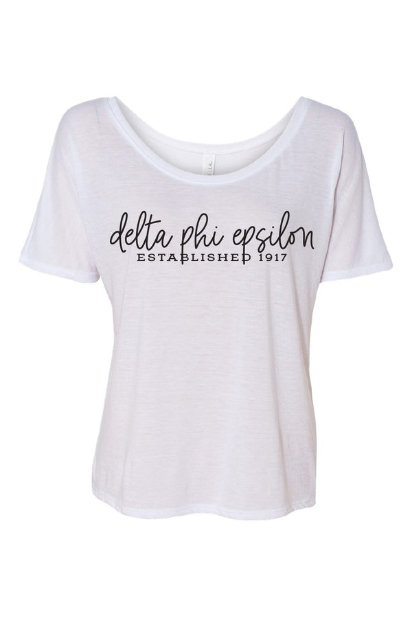 DPhiE Established Tee