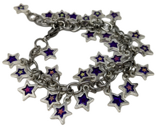 Load image into Gallery viewer, Handmade Silver Star Charm Bracelet ☆ - taylorsprinkle.com