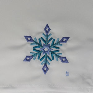 Downloadable Snowflake Embroidery File ❅❆❅ Diamond ❅❆❅ - taylorsprinkle.com