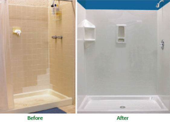 Driscoll Children's Hospital Shower Stall Non-Toxic Coating