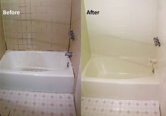 University of Utah Low VOC Bathroom Makeover Before and After