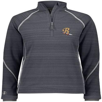 Scranton/Wilkes-Barre RailRiders Holloway Women's Deviate 1/2 Zip Pullover Gray