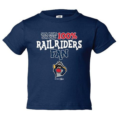 Scranton/Wilkes-Barre RailRiders RailRiders Infant Fraction T-Shirt (Blue)