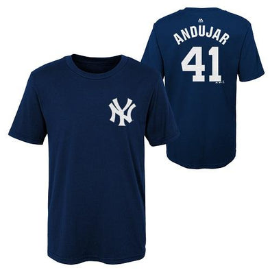 Scranton/Wilkes-Barre RailRiders Andujar Youth Name/Number Tee