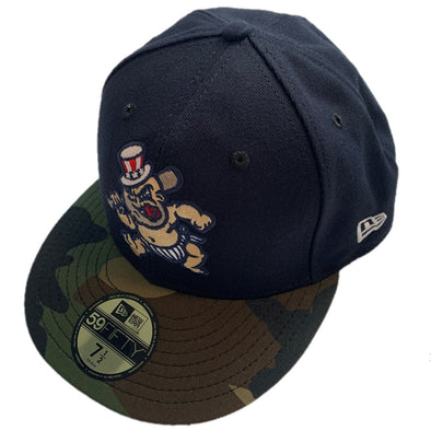 Scranton/Wilkes-Barre RailRiders 59Fifty New Era Baby Bombers Camo Hat