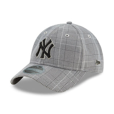 New Era New York Yankees Black Label 9Twenty Houndstooth Adjustable Cap