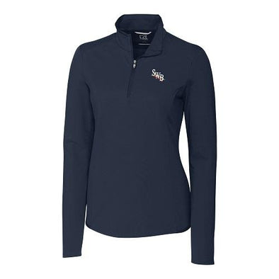 Scranton/Wilkes-Barre RailRiders Cutter & Buck Women's Advantage Half Zip