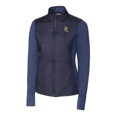Scranton/Wilkes-Barre RailRiders Cutter & Buck Women's Stealth Full Zip