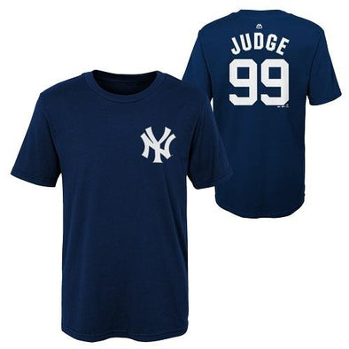 Scranton/Wilkes-Barre RailRiders Aaron Judge Youth Name/Number Tee