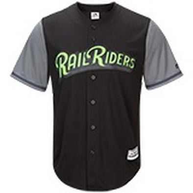 Scranton/Wilkes-Barre RailRiders Majestic Women's Friday Night Jersey