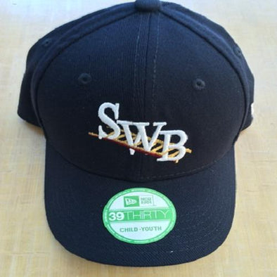 "Scranton/Wilkes-Barre RailRiders Youth 39Thirty New Era ""NEW"" SWB Logo Cap"