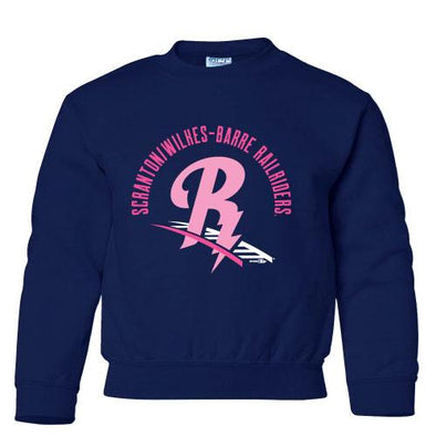 Scranton/Wilkes-Barre RailRiders Bimm Ridder Girls Crewneck Sweatshirt