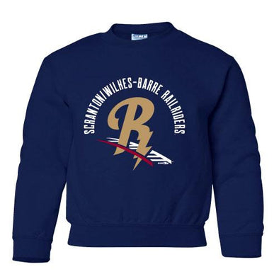 Scranton/Wilkes-Barre RailRiders RailRiders Youth Crewneck Sweatshirt
