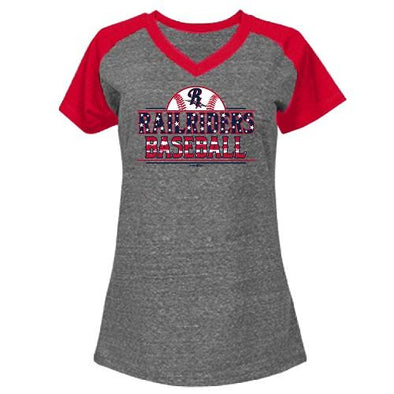 Bimm Ridder Youth Girls' Patriotic T-Shirt