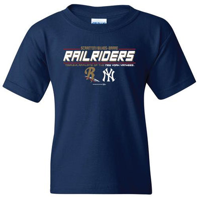 Scranton/Wilkes-Barre RailRiders Bimm Ridder Youth Co-Brand T-Shirt