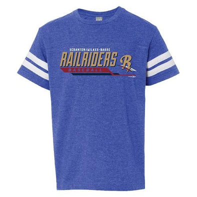 Scranton/Wilkes-Barre RailRiders Youth Royal Sporty T-Shirt
