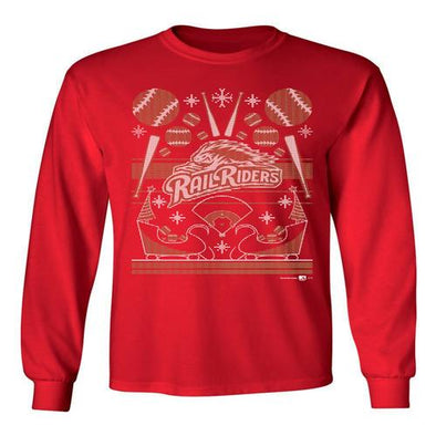 Ugly Holiday Sweater Long Sleeve T-Shirt