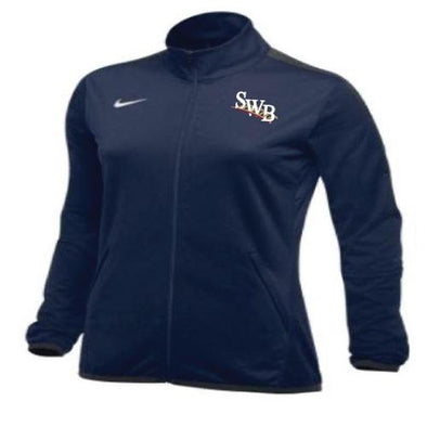 Scranton/Wilkes-Barre RailRiders Women's Nike Epic Full-Zip Jacket Navy