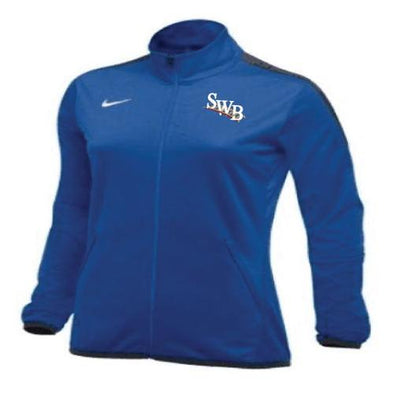 Scranton/Wilkes-Barre RailRiders Women's Nike Epic Full-Zip Jacket Royal Blue
