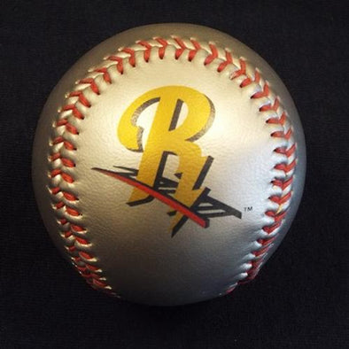 RailRiders Silver Logo Baseball