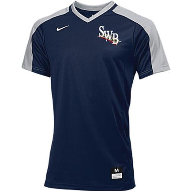 Scranton/Wilkes-Barre RailRiders Youth NIKE Vapor Dri-Fit Game Top