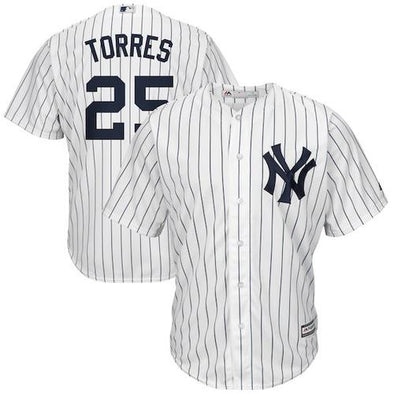 #25 Gleyber Torres New York Yankees Replica Jersey
