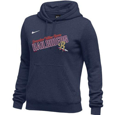 Scranton/Wilkes-Barre RailRiders NIKE Women's Club Fleece Hoody