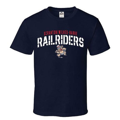 Scranton/Wilkes-Barre RailRiders Youth RailRiders Baby Bombers Tee