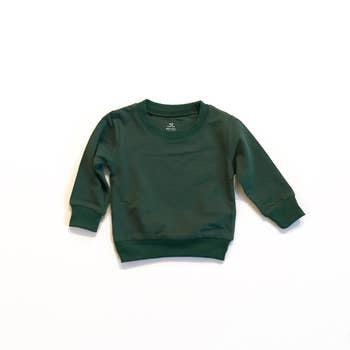 Basic sweatshirt - Forest Green