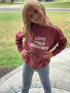 Love Your Neighbor Kid's Sweatshirt