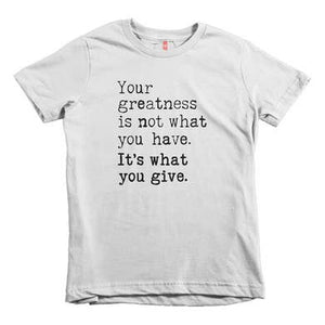 """Your Greatness"" Tee"