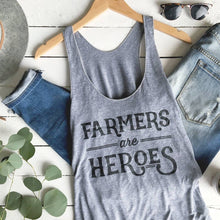 Load image into Gallery viewer, Farmers are Heroes | Adult Tank