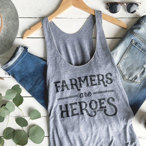 Farmers are Heroes | Adult Tank