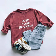 Load image into Gallery viewer, Love Your Neighbor Kid's Sweatshirt