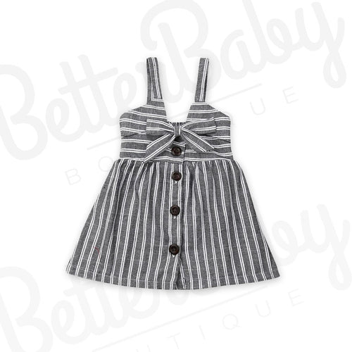 Stripe A Pose Baby Dress