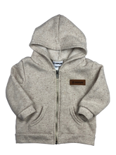 Load image into Gallery viewer, Thatcher Full Zip Hoodie | Gray
