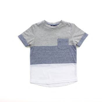 Grey Heather Andres Tee