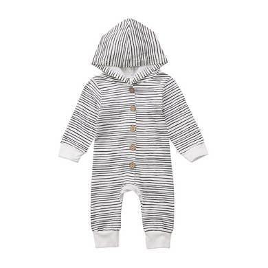 NZ | Line It Up Hooded Jumpsuit