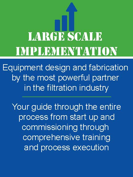 Engineered Filtration Solutions (EFS) sells reverse osmosis membrane filtration & separation equipment & wastewater membrane bioreactors. With 30 years' experience, EFS has the knowledge & expertise to design, install, startup & maintain your system.